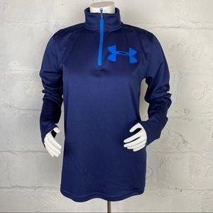 Under Armour Girl's 1/4 Zip Sweatshirt